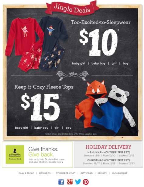 Gymboree Black Friday Ad - Page 2