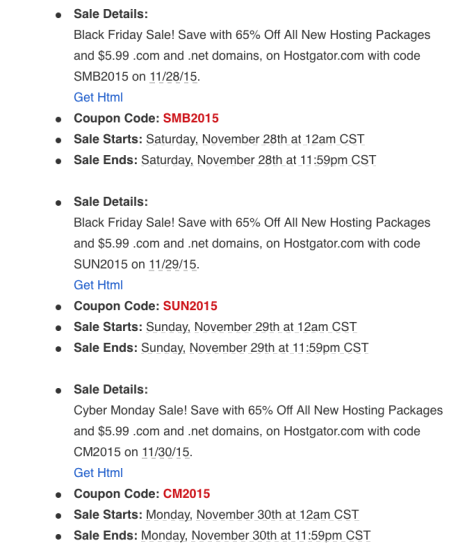 Hostgator Black Friday 2015 Ad - Page 2