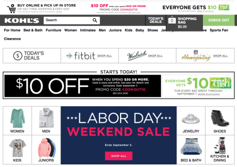 Kohls Labor Day Sale 2015 - Page 1