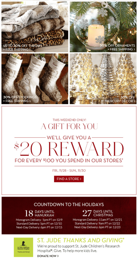 Pottery Barn Black Friday Ad - Page 2