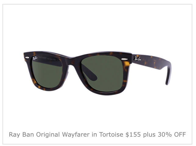 the ray ban official shop  just remember to use coupon code bf30 to take advantage of this sale and to get free shipping. this offer is only available at the official ray ban