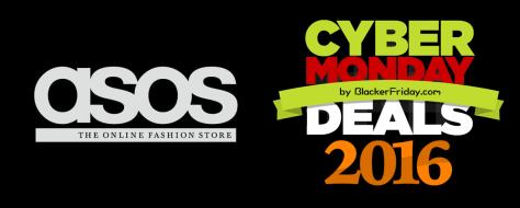 Asos Cyber Monday 2016