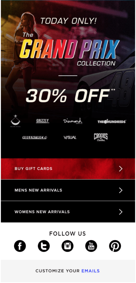 PacSun Cyber Monday Ad - Page 2