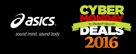 Asics Cyber Monday 2016
