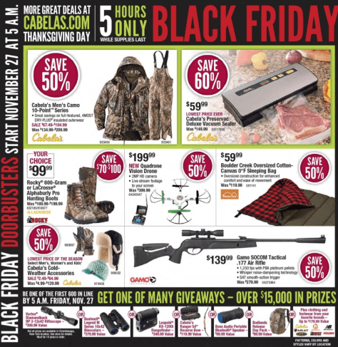 Cabelas Black Friday 2015 Ad - Page 2