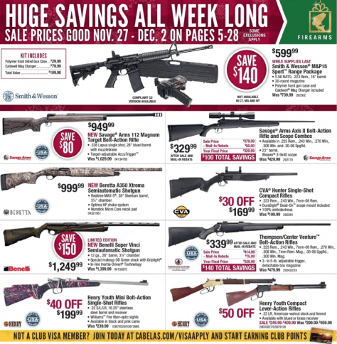 Cabelas Black Friday 2015 Ad - Page 5