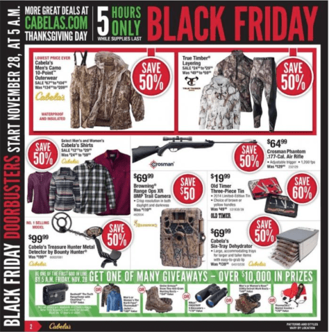 Cabelas Black Friday Ad - Page 2