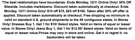Charlotte Russe Cyber Monday Ad - Page 2