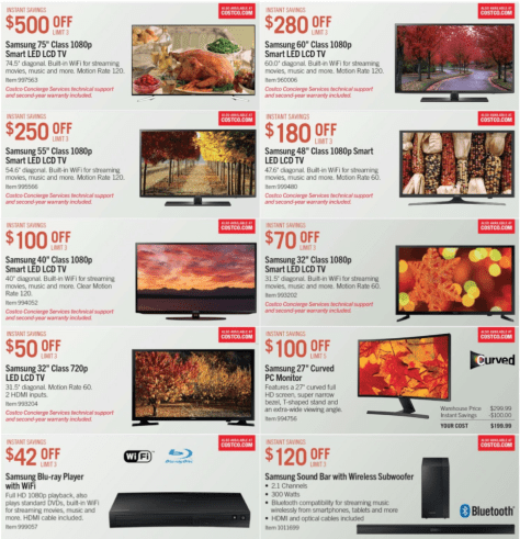 Costco Black Friday 2015 Ad - Page 2