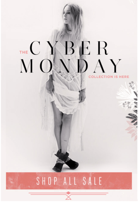 Free People Cyber Monday Ad - Page 2
