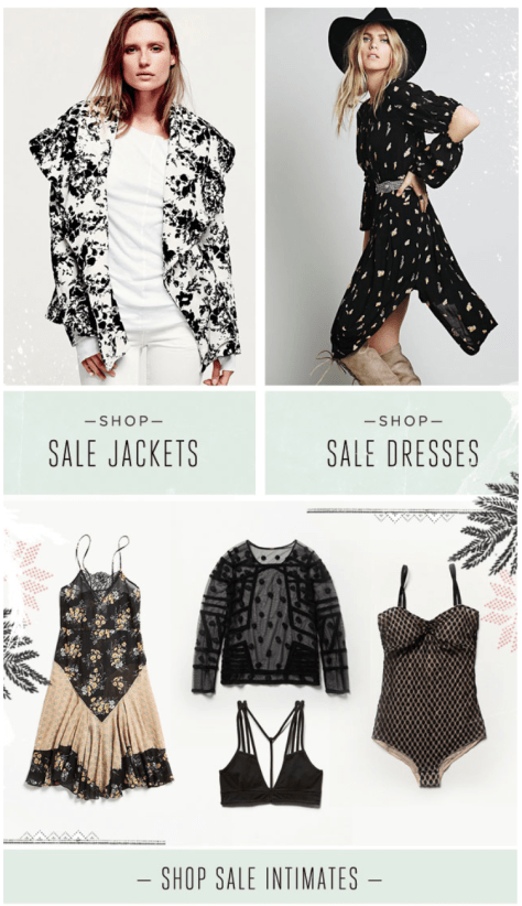 Free People Cyber Monday Ad - Page 3