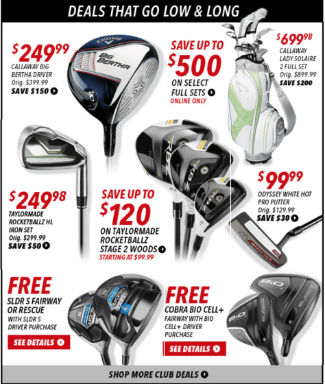 Golfsmith Black Friday Ad - Page 3