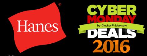 Hanes Cyber Monday 2016
