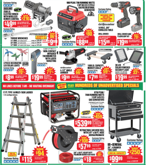 Harbor Freight Tools Black Friday 2015 Flyer - Page 2