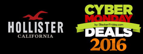 Hollister Cyber Monday 2016