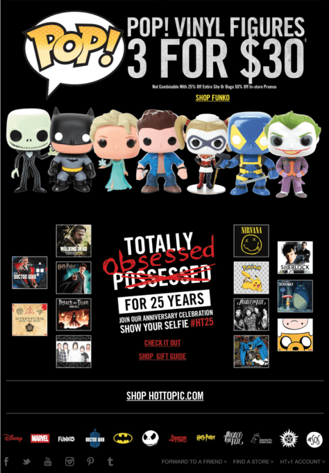 Hot Topic Black Friday Ad - Page 2