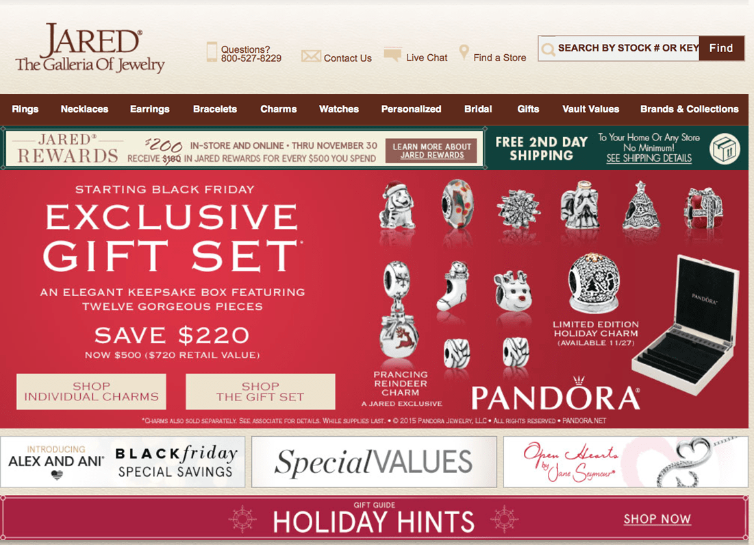Jared Jewelers Black Friday 2017 Sale Deals Blacker Friday