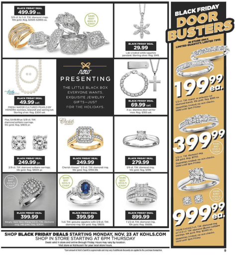 Kohls Black Friday 2015 Ad - Page 9