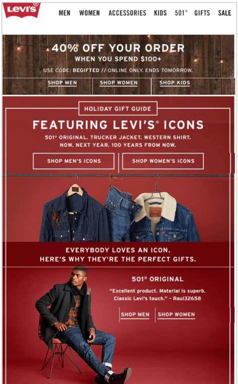 Levis Black Friday 2015 Ads - Page 1