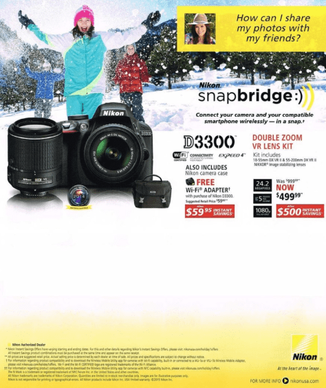 Nikon Black Friday 2015 Ads - Page 8