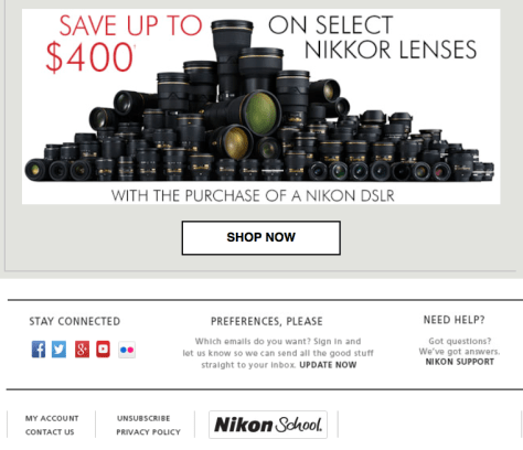 Nikon Black Friday Ad - Page 3