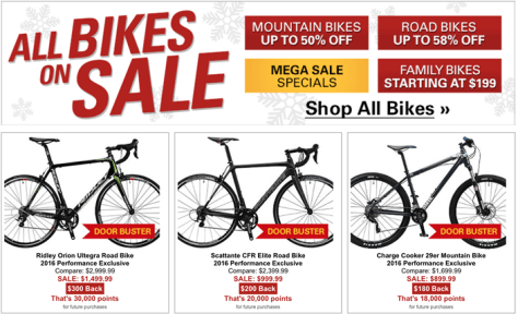 Performance Bike Black Friday 2015 Flyer - Page 3