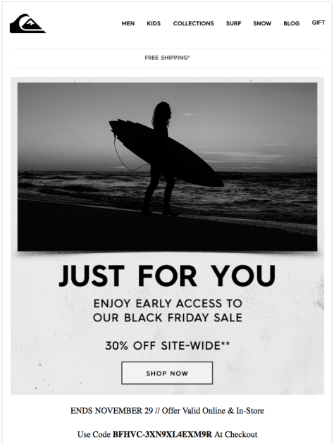 Quiksilver Black Friday 2015 Ad - Page 2