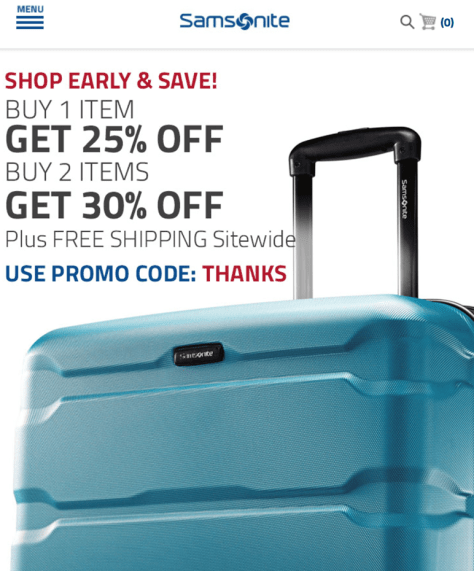 Samsonite Black Friday 2015 Ad - Page 2