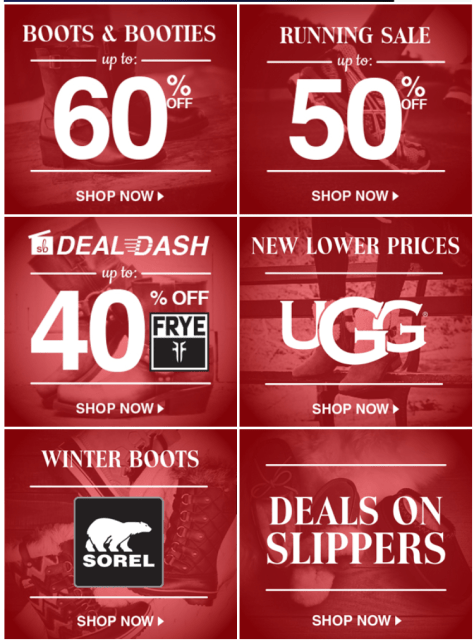 Shoebuy Cyber Monday 2015 Ad - Page 2