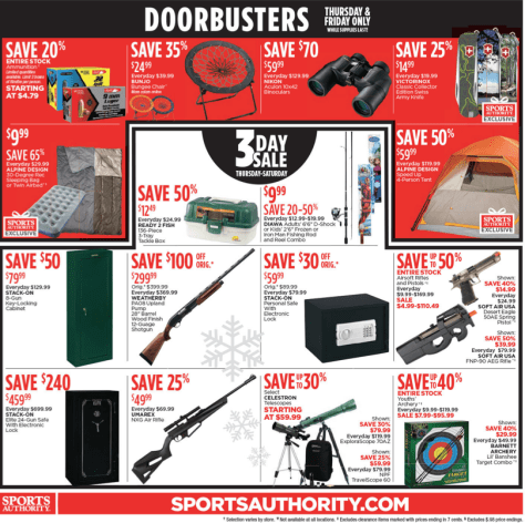Sports Authority Black Friday 2015 Ad - Page 15
