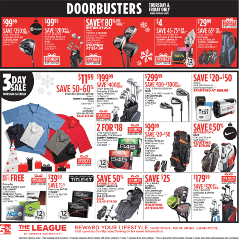 Sports Authority Black Friday 2015 Ad - Page 17