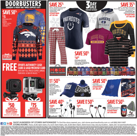 Sports Authority Black Friday 2015 Ad - Page 19