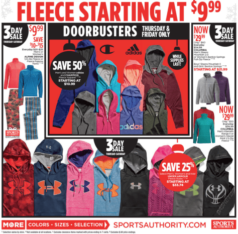Sports Authority Black Friday 2015 Ad - Page 9