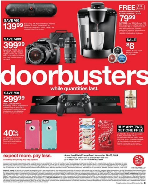 Target Black Friday 2015 Ad - Page 33