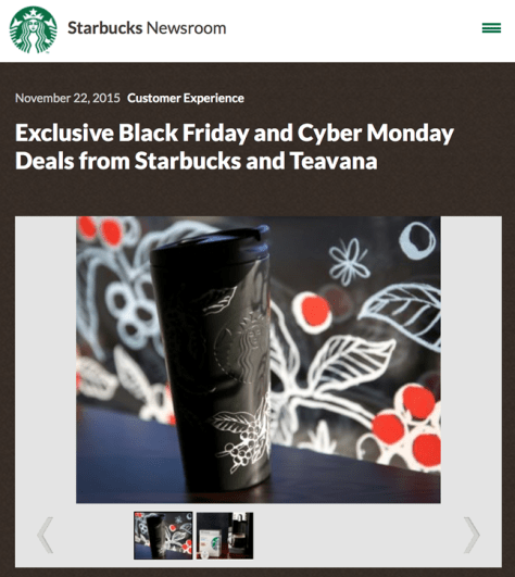 Teavana Black Friday 2015 Ad - Page 1