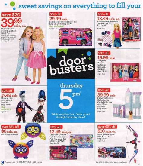Toys R Us Black Friday 2015 Ad - Page 10