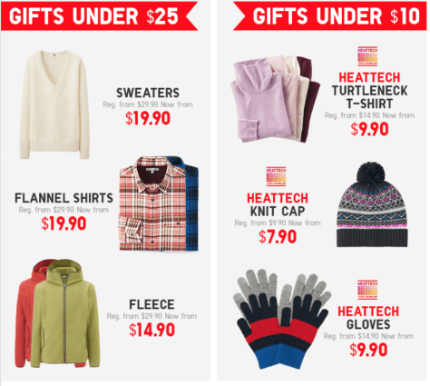 UNIQLO Black Friday 2015 Flyer - Page 3