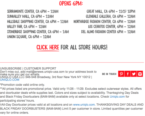 UNIQLO Black Friday 2015 Flyer - Page 5