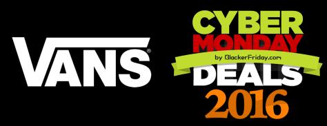 Vans Cyber Monday 2016
