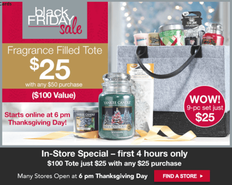 Yankee Candle Black Friday 2015 Flyer - Page 1