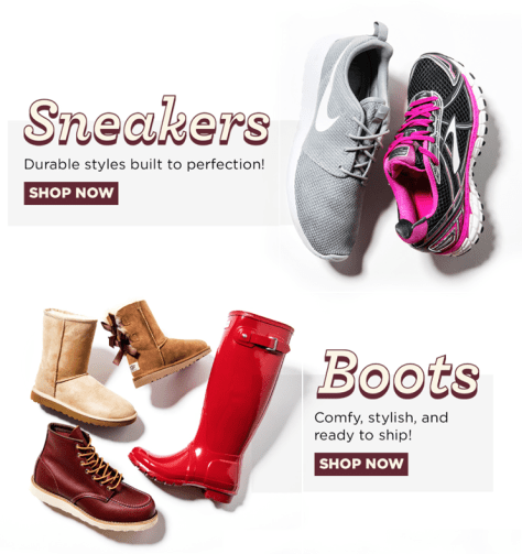 Zappos Cyber Monday 2015 Ad - Page 2