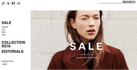 Zara After Christmas Sale 2015 - Page 1