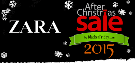 Zara After Christmas Sale 2015
