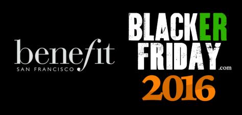 Benifit Cosmetics Black Friday 2016
