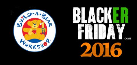 Build a Bear Black Friday 2016