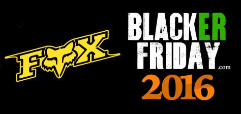 Fox Head Black Friday 2016