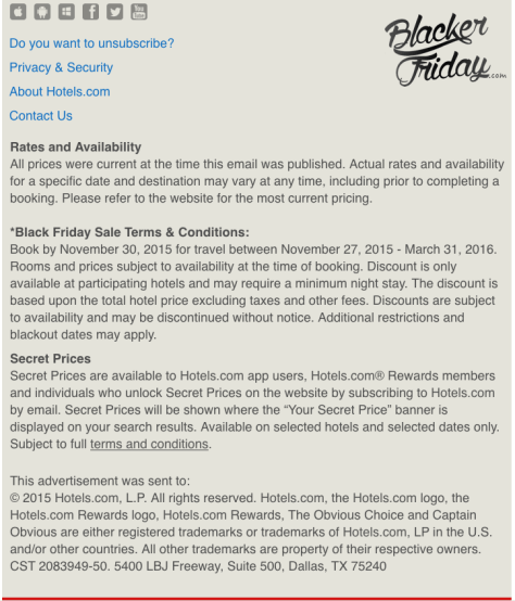 Hotels com Black Friday Sale - Page 2