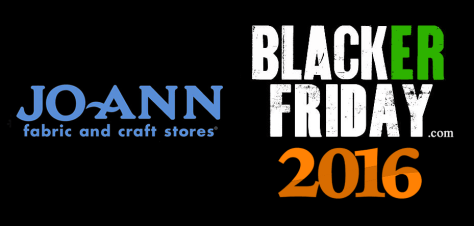 JoAnn Black Friday 2016