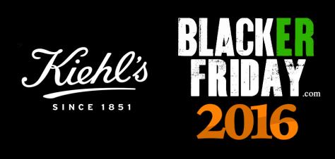 Kiehls Black Friday 2016