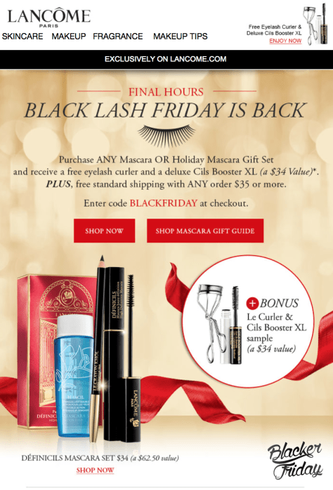 Lancome Black Friday Sale - Page 1